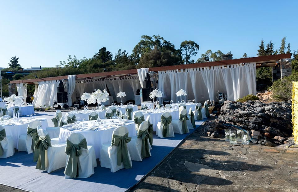 Wedding Reception in Kalyspo