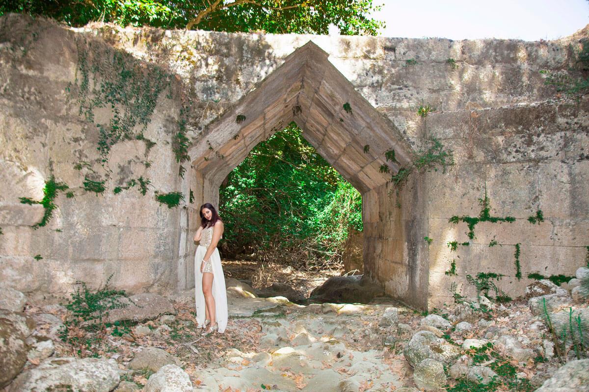 Wedding in gorges