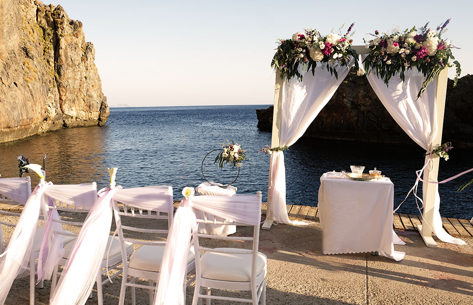 Wedding Ceremony in Kalypso