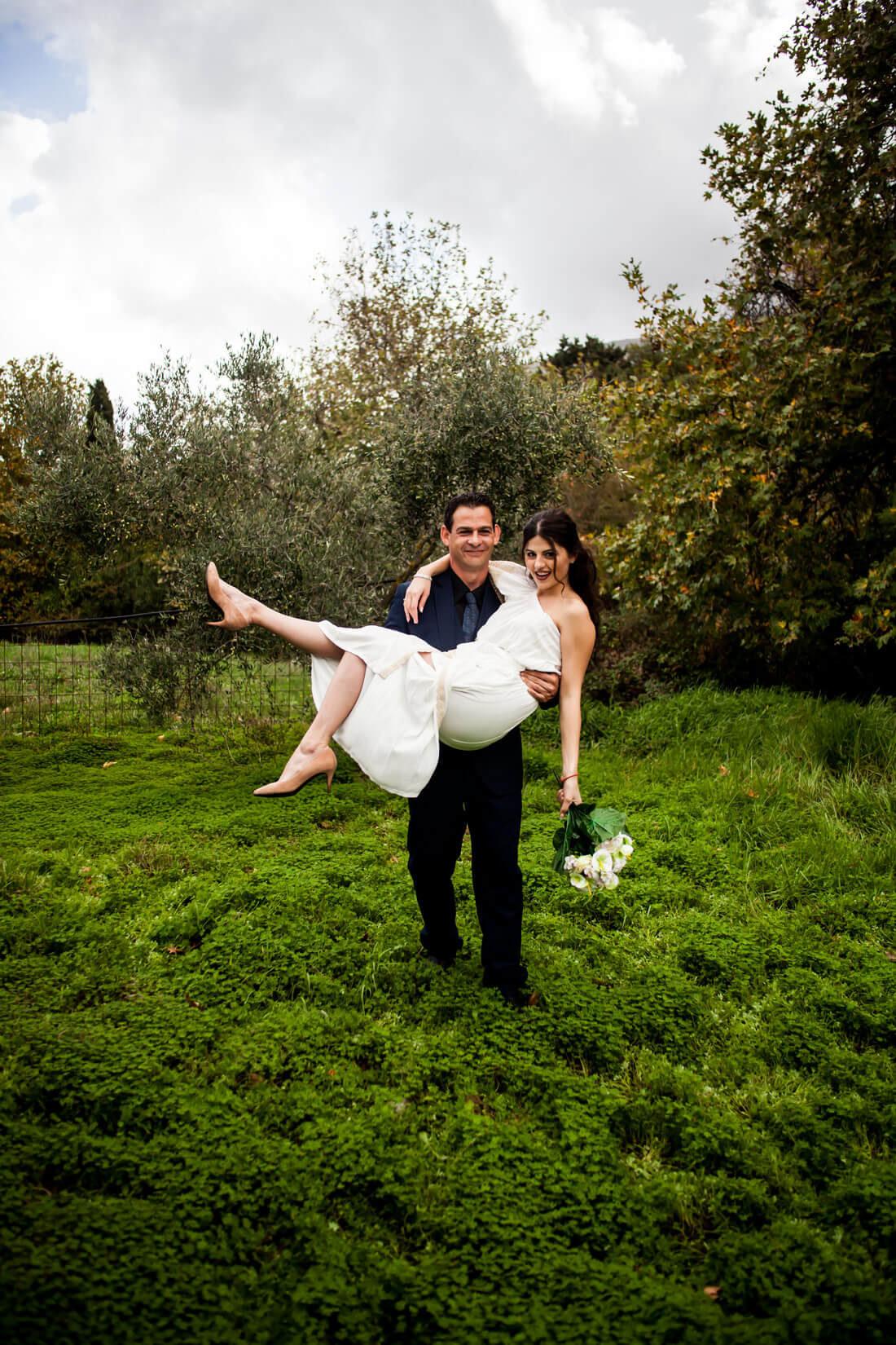 Hochzeit im Olivenhain