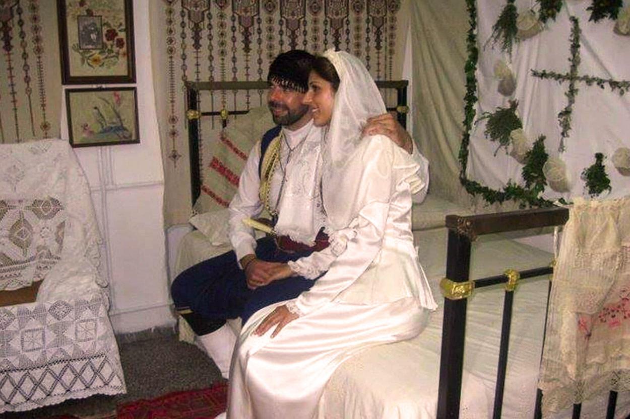 Traditionelle kretische Hochzeit